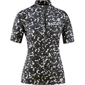 Gonso Vedla Half-Zip SS Bike Jersey Women black allover